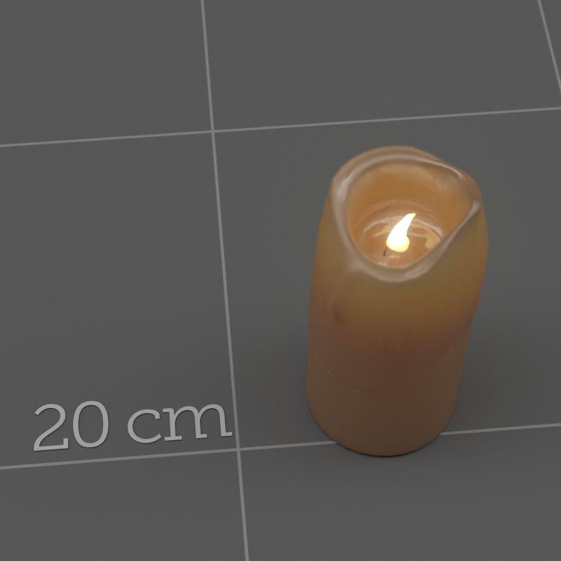 Corona Cinema 4D Material Candle wax (Skin-mat/B2)