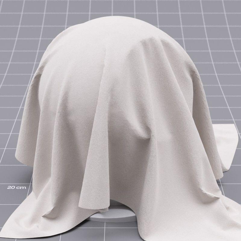 Corona Cinema 4D Material Cloth beige simple